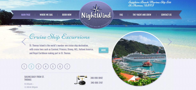 Nightwind Day Sail St. Thomas