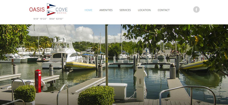 Oasis Cove Marina St. Thomas