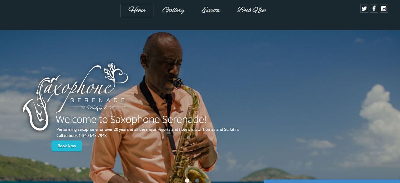 Saxophone Serenade St. Thomas