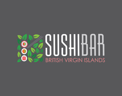 Sushi Bar BVI Logo Design