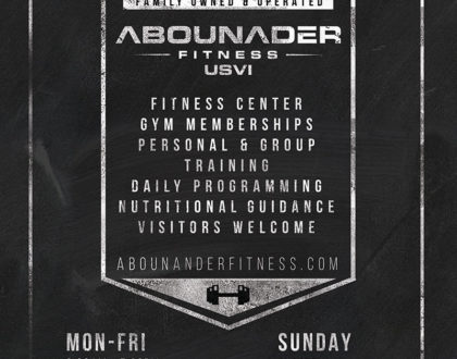 Design for Abounader Fitness St. Thomas