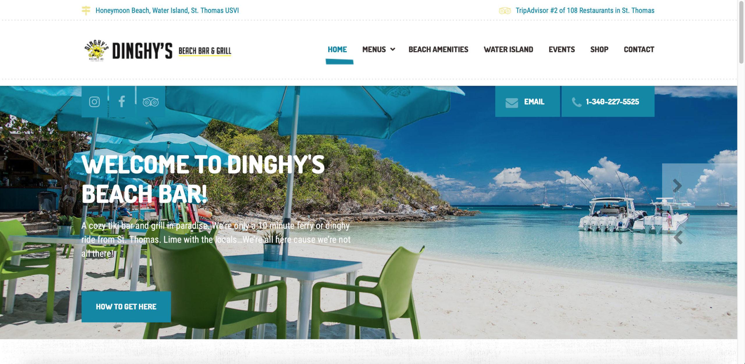 Dinghy's Beach Bar & Grill