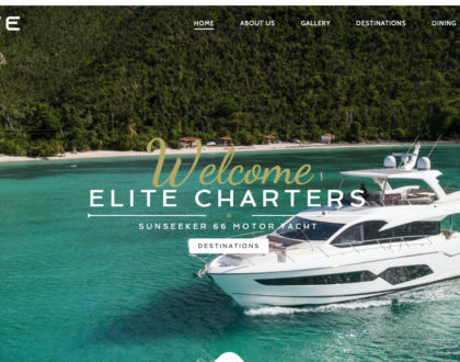 Elite Charters Website