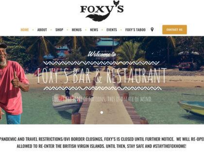 Foxy's Jost van Dyke Website