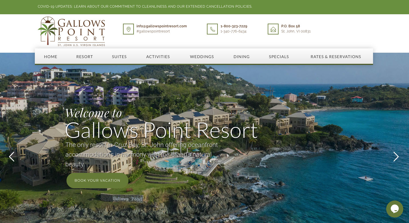 Gallows Point Resort St. John