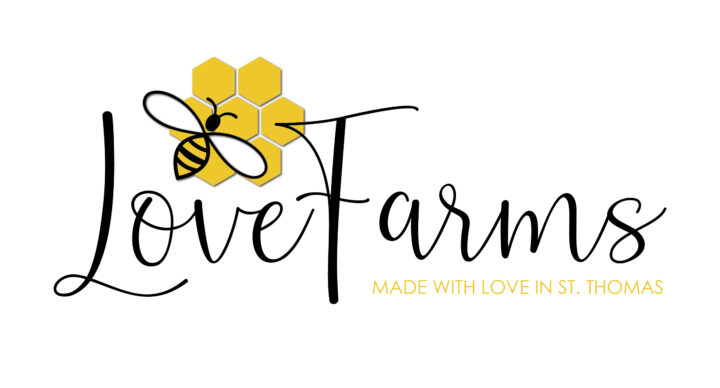 Love Farms St. Thomas USVI Logo Branding