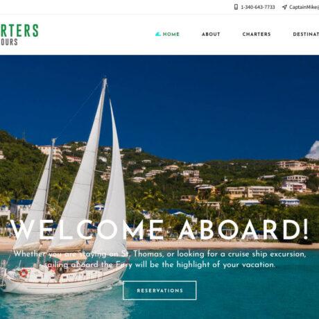 Fury Charters Website