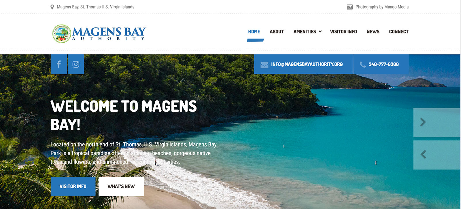 Magens Bay Authority Website