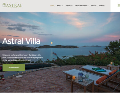 St. Thomas web design